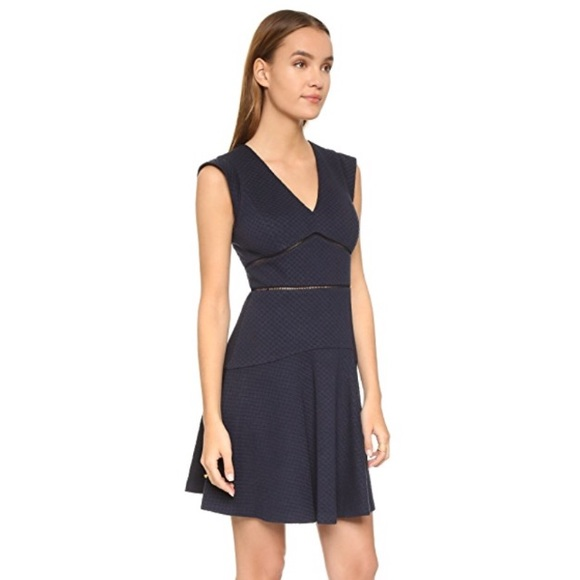 Rebecca Taylor Dresses & Skirts - Rebecca Taylor navy blue fit and flare dress